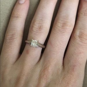 3/4 ct tdw engagement ring